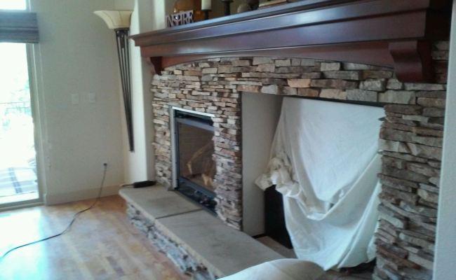 Interior Stone Fireplace (2)