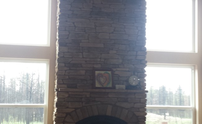 Interior Stone Fireplace (4)